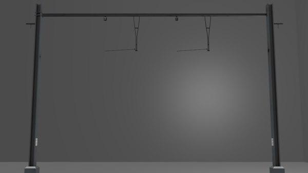 1 2 3D model