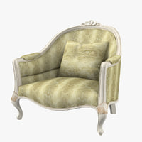 montigy m107 arm chair 3D