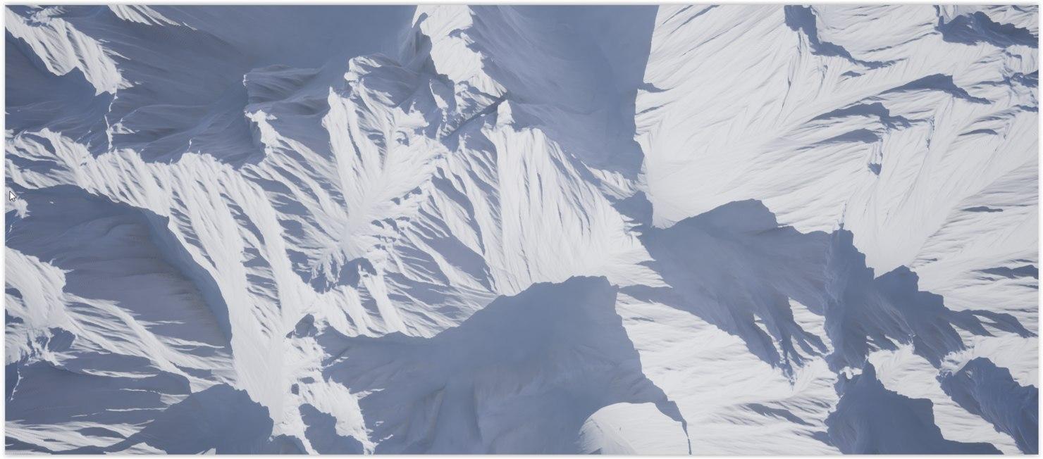 3D ultra realistic landscape model