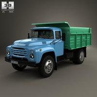 zil 130 dump 3D model