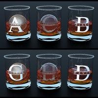 custom print glass whiskey 3D