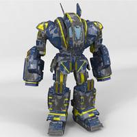 mech juggernaut 3D model