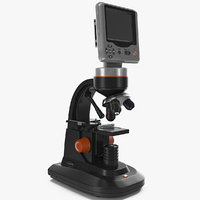 3d lcd digital microscope