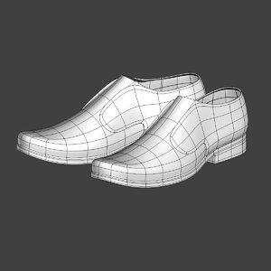 3D business shoes