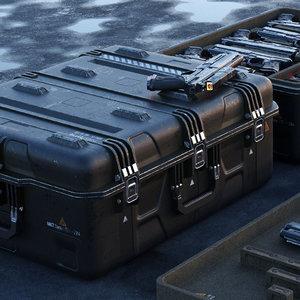box scifi - pbr 3D model