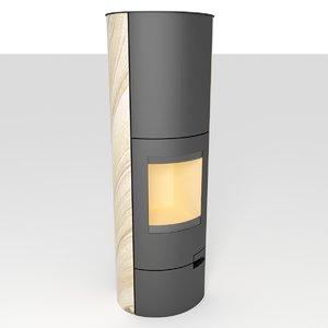 romotop lugo akum stove 3D model