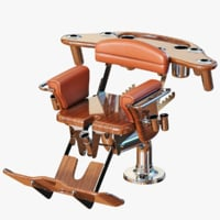 3D model fighting chair