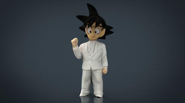 goku groom 3D