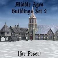 set build medieval 2 3D model