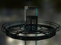 Sci-Fi Elevator