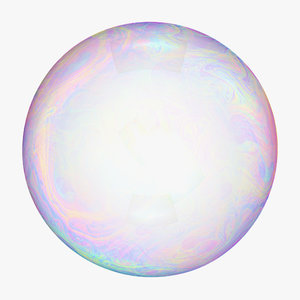 3D model soap bubble