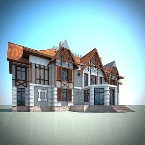 framing house 3D model