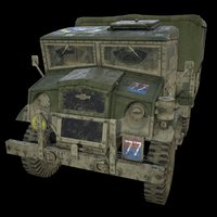 3D ww2 chevrolet cwt 15