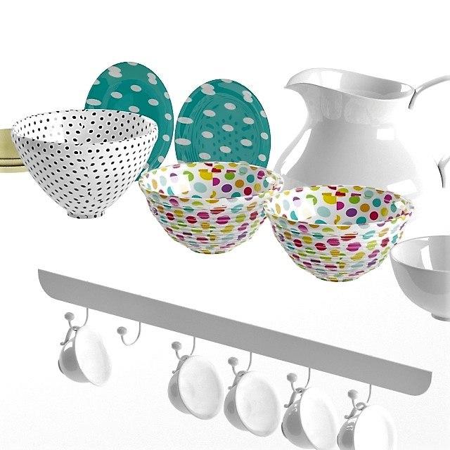 mug bowl model
