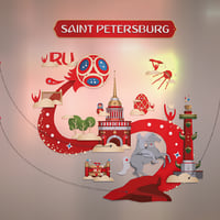 3D saint petersburg peter