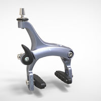 Bicycle brake caliper
