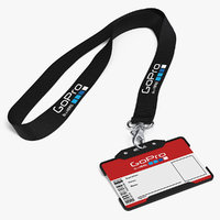 GoPro Lanyard with Plastic ID Card Holder