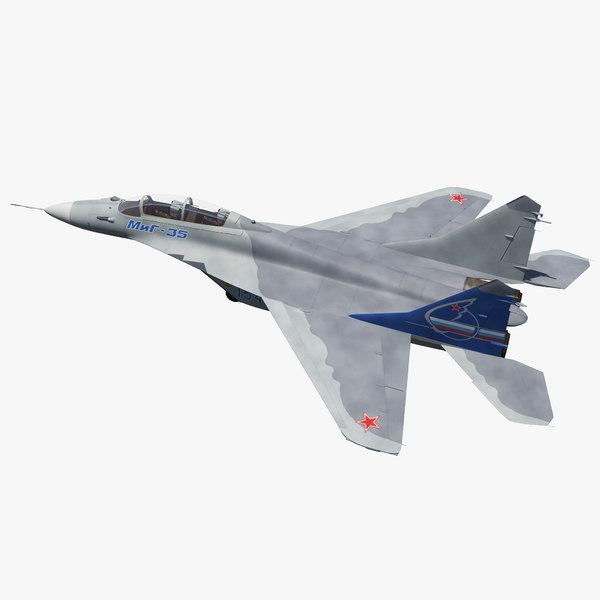 fighter mikoyan mig-35 fulcrum 3D