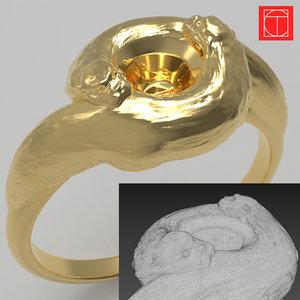 otter ring model