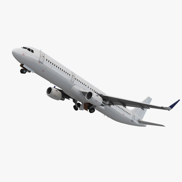 3D model airbus a321 generic interior