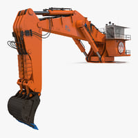 backhoe dredger backacter 1100 model