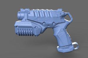 3D nerf soaker model