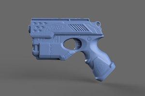 nerf n-strike 3D model