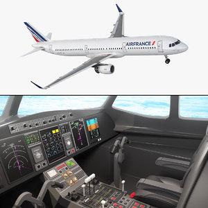 airbus a321 air france model