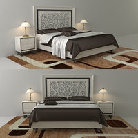 bed monrabal chirivella alba 3D model