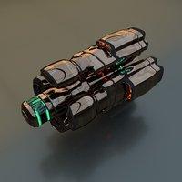 drive star 3D model