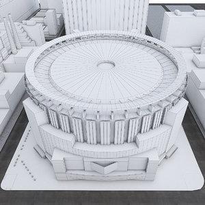 3D madison square garden