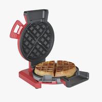 photoreal vertical waffle maker 3D model