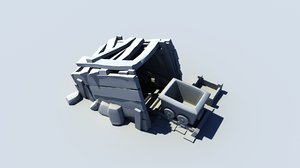 goldmine level 1 clash 3D model