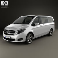 mercedes-benz v-class v 3D model