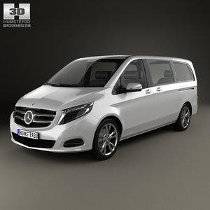 mercedes-benz v-class v 3D model