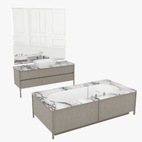 3D bathroom set algonquin