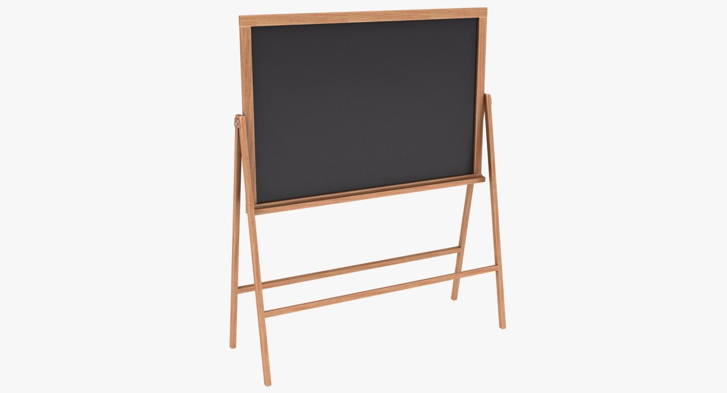 chalkboard color 3 3D model