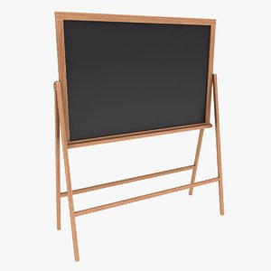 chalkboard color 3 3D model