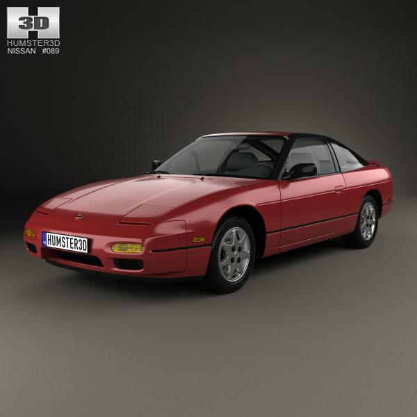 nissan 240sx 240 3D model