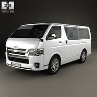 toyota hiace lwb model
