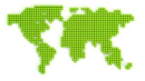 world cubes 3D model