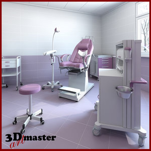 room gynecological 3D model