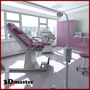 room gynecological 3D