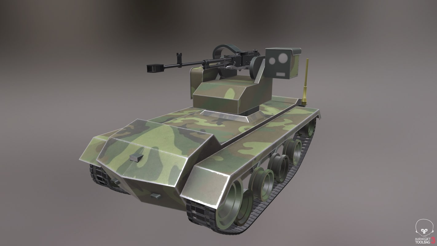 russian robot 3D