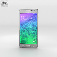 samsung alpha galaxy 3D model