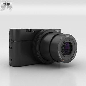 sony cyber-shot cyber 3D model