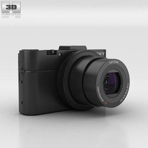 3D sony cyber-shot cyber