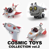 3D cosmic toys vol 2 model