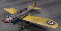 plane ryan pt-22 recruit 3D model