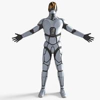 Sci-Fi Soldier / Pilot
